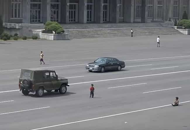 Kids Freely Play In Streets Du... is listed (or ranked) 3 on the list Pictures Of Rural Life In North Korea
