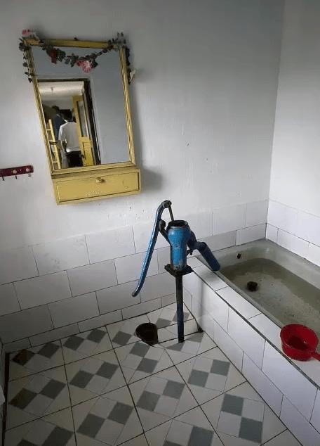 Standard Bathroom on Random Pictures Of Rural Life In North Korea