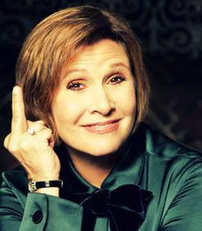 Carrie's First Choice Fo... is listed (or ranked) 4 on the list Here's A Bunch Of Pictures Of Carrie Fisher Flipping People Off