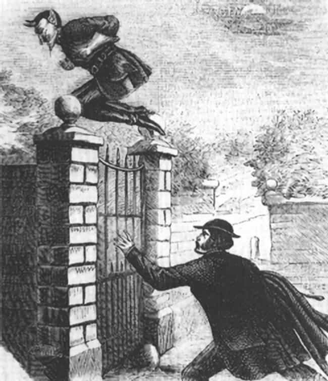 Spring-Heeled Jack Was S... is listed (or ranked) 1 on the list The Legend Of Spring-Heeled Jack, The Victorian Era's Most Feared Boogeyman