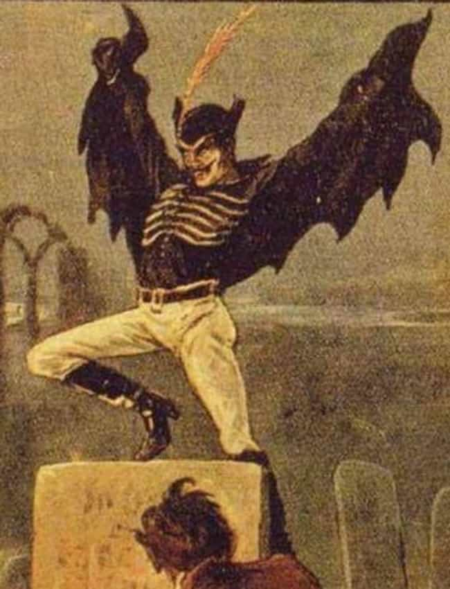 Reports Of Spring-Heeled... is listed (or ranked) 3 on the list The Legend Of Spring-Heeled Jack, The Victorian Era's Most Feared Boogeyman