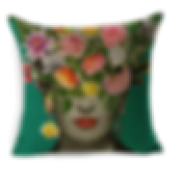 This Frida Throw Pillow Will G... is listed (or ranked) 1 on the list 20 Things That Every Frida Kahlo Lover Needs