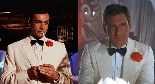 They're Not Afraid To Dres... is listed (or ranked) 4 on the list Indiana Jones And James Bond Are Basically The Same Character, And We Can Prove It