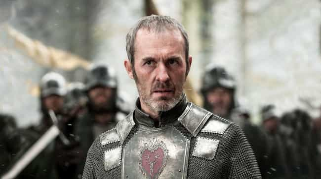 Stannis The Mantis is listed (or ranked) 8 on the list 11 Game Of Thrones Things You Should Never Ever Google Search