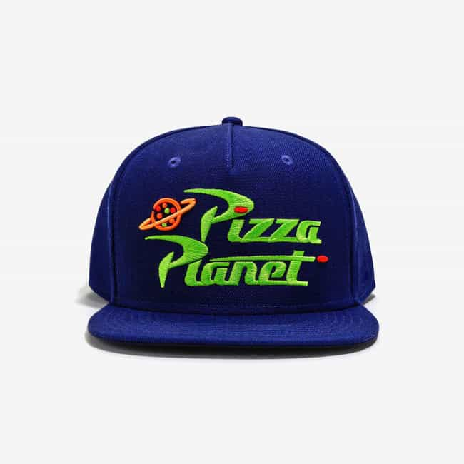 Pizza Planet Hat is listed (or ranked) 1 on the list Disney Items For Your Friend Who Never Left The Magic Kingdom