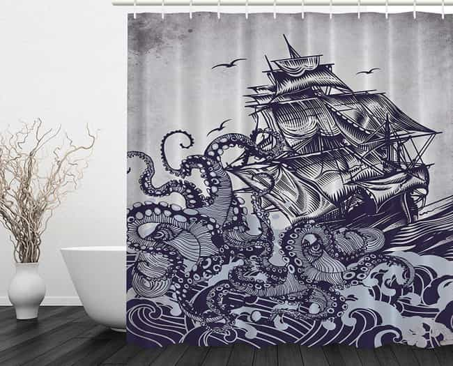 Hilarious And Creative Shower Curtains That Will Make Your ...
