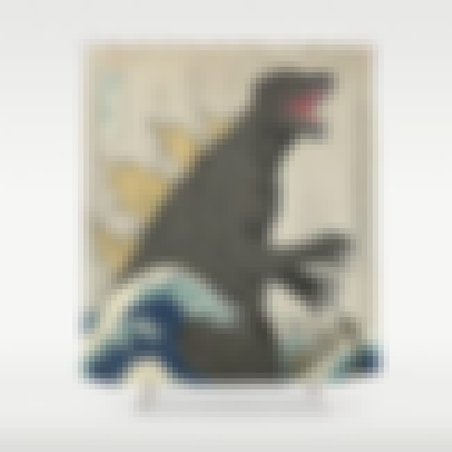 Godzilla is listed (or ranked) 1 on the list Hilarious And Creative Shower Curtains That Will Make Your Bathroom Awesome