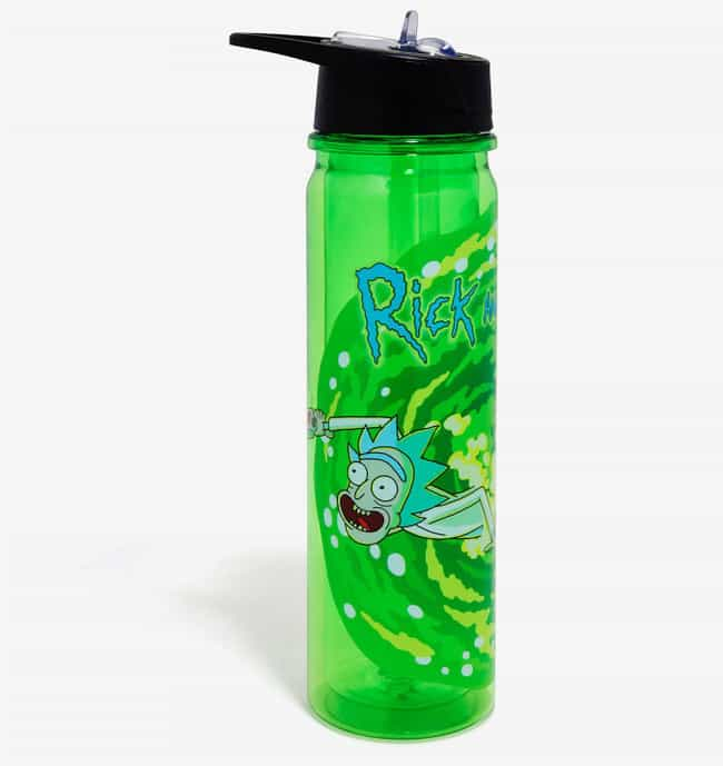 Rick & Morty Water B... is listed (or ranked) 4 on the list 20 Ingenious Water Bottles That Make Drinking Water Legitimately Fun