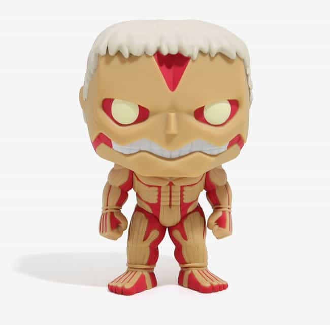 Armored Titan Vinyl Figu... is listed (or ranked) 2 on the list This Attack On Titan Swag Will Keep Any Fan Satisfied Until Season 3