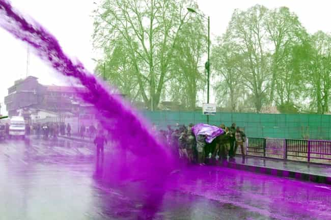The National Party Was A... is listed (or ranked) 4 on the list South African Cops Blasted Anti-Apartheid Protesters With A Purple Water Cannon To 'Mark Them'