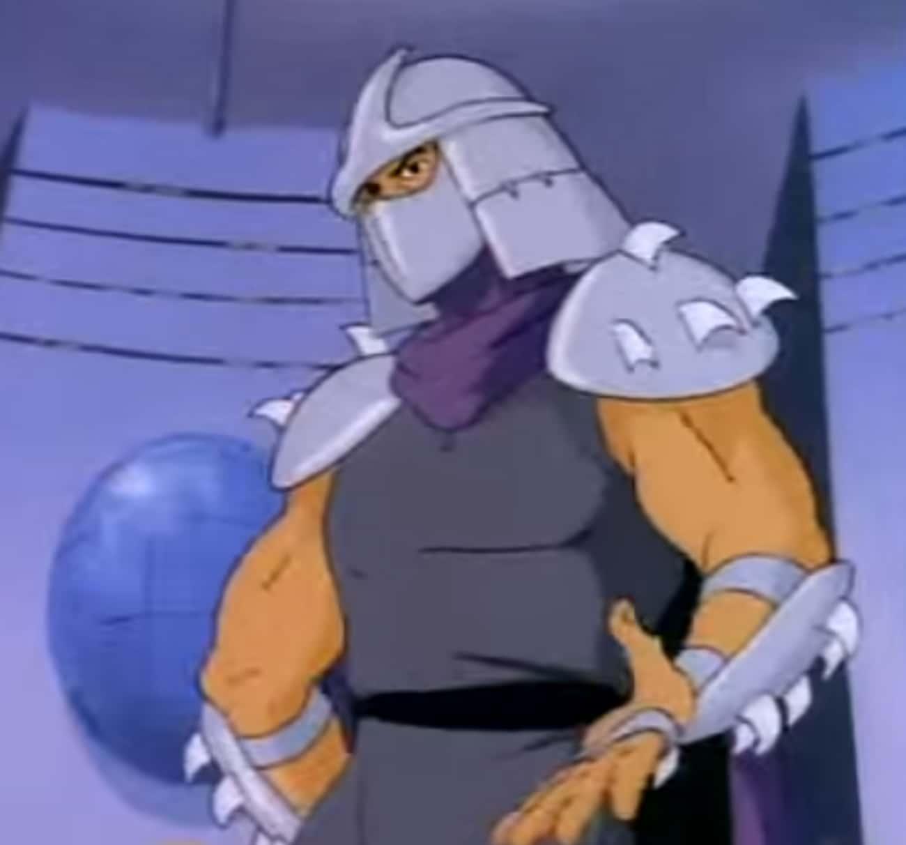 Shredder Had Eclectic Taste In is listed (or ranked) 4 on the list Teenage Mutant Ninja Turtles Fan Theories
