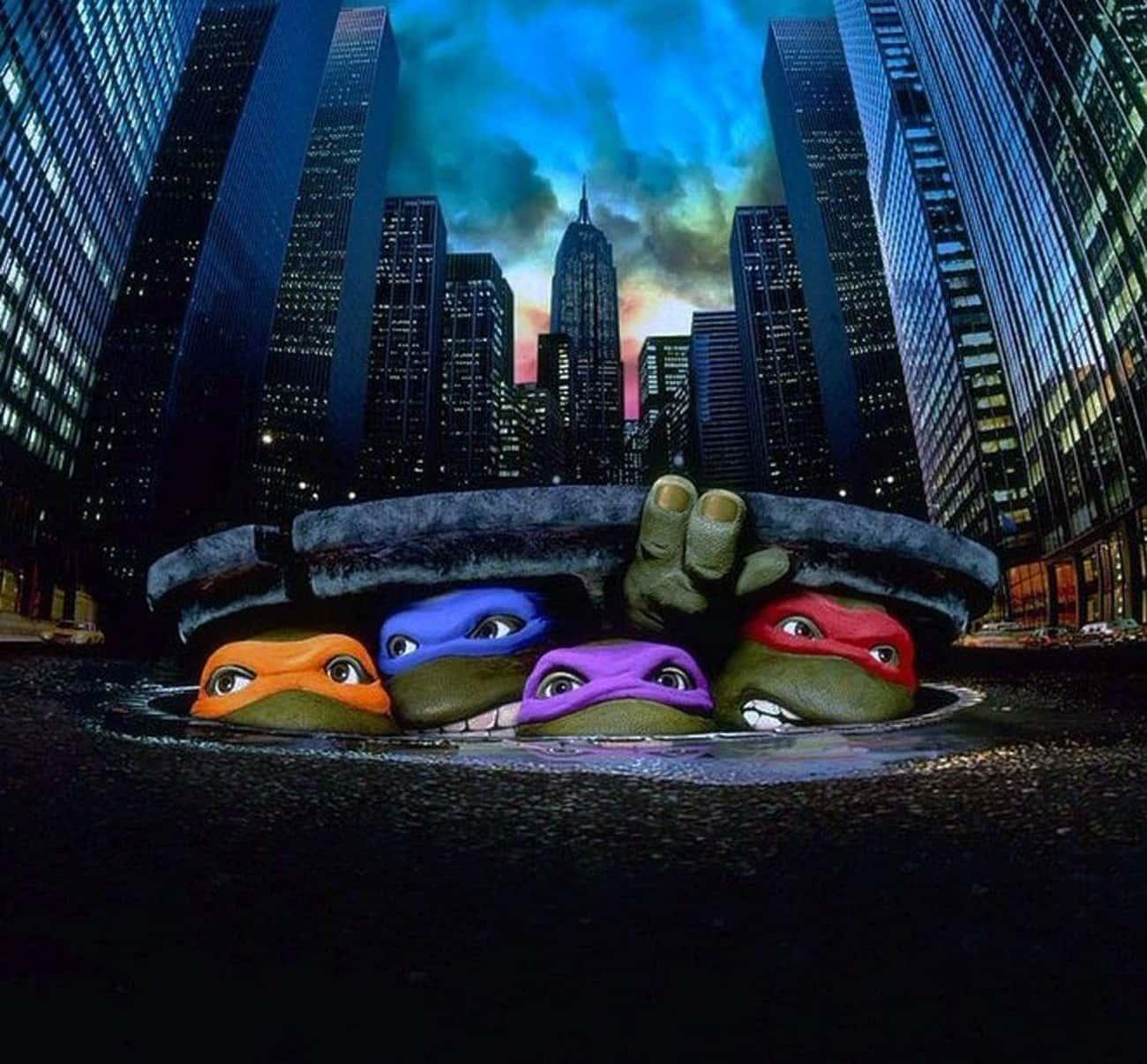 The 'TMNT' Movie Wasn' is listed (or ranked) 1 on the list Teenage Mutant Ninja Turtles Fan Theories