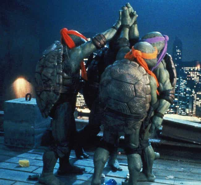 The Turtles Had A Reason For D... is listed (or ranked) 2 on the list Teenage Mutant Ninja Turtles Fan Theories