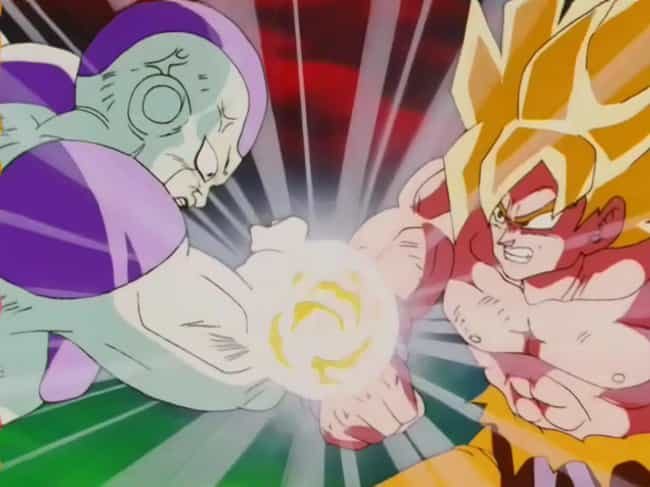 Goku And Frieza's Five-Minute ... is listed (or ranked) 2 on the list 14 Mind-Blowing Dragon Ball Z Fan Theories