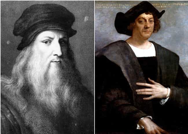 Leonardo Da Vinci Was A Year Y... is listed (or ranked) 4 on the list Famous Historical Figures Most People Have No Idea Lived At The Same Time