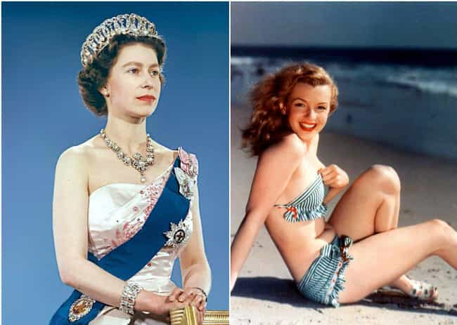 Queen Elizabeth II Was Born Th... is listed (or ranked) 3 on the list Famous Historical Figures Most People Have No Idea Lived At The Same Time