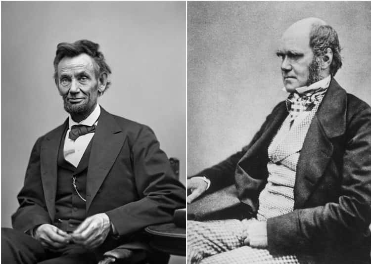 Abraham Lincoln And Charles Darwin Were Born On The Same Day
