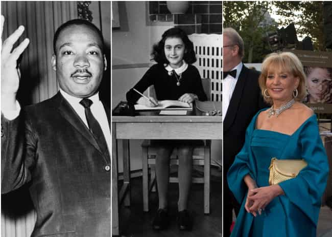 Martin Luther King, Anne Frank... is listed (or ranked) 1 on the list Famous Historical Figures Most People Have No Idea Lived At The Same Time