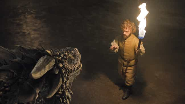 Tyrion Has A Way With Dr... is listed (or ranked) 4 on the list Jon Snow And Tyrion Are Going To Ride The Other Two Dragons, And We Can Prove It