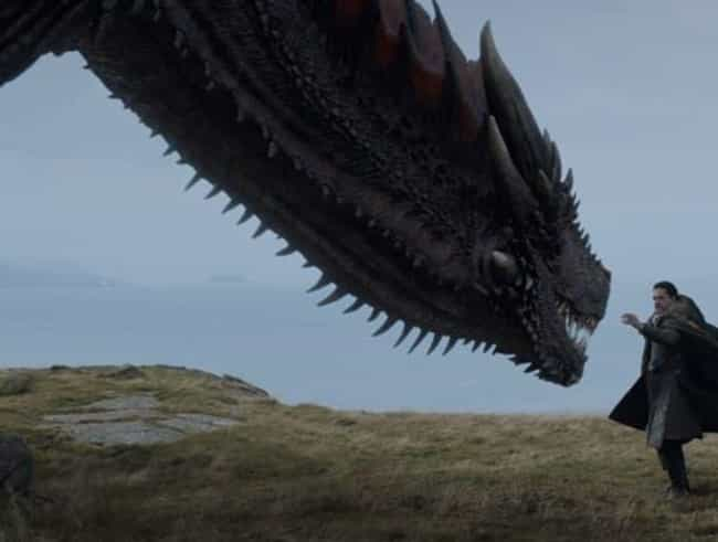 Jon Can Touch Drogon is listed (or ranked) 3 on the list Jon Snow And Tyrion Are Going To Ride The Other Two Dragons, And We Can Prove It