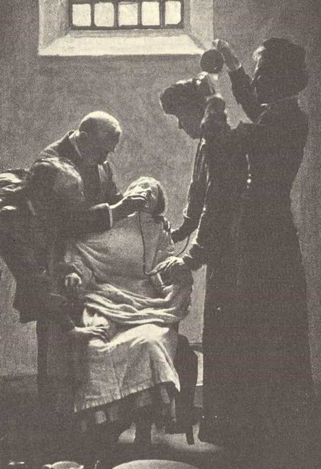 Being Force-Fed Was Abso... is listed (or ranked) 4 on the list Before World War 1, The British Government Force-Fed Suffragettes On A Hunger Strike