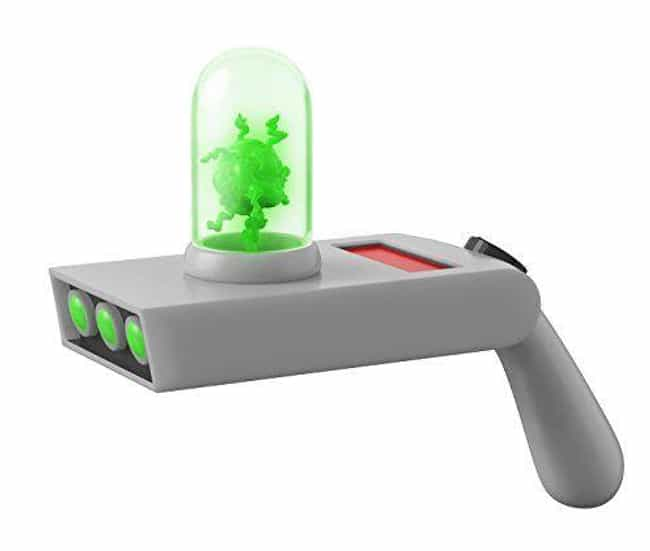 Rick's Portal Gun is listed (or ranked) 1 on the list Schwifty AF Rick And Morty Merchandise You Should Buy To Fill The Empty Void In Your Soul