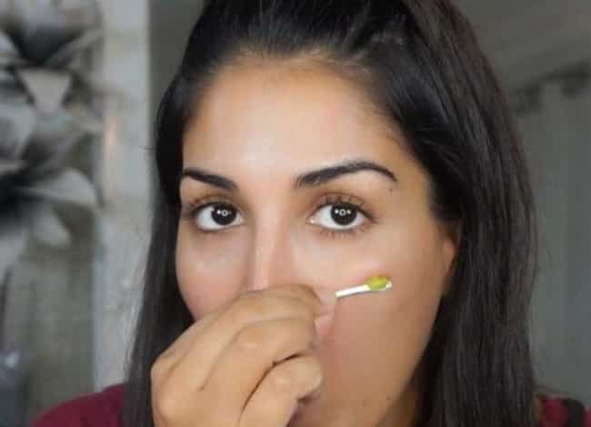 "Applying Wasabi As An Acne Spo... is listed (or ranked) 4 on the list 12 Dangerous Makeup ""Hacks"" You Should NEVER Try"