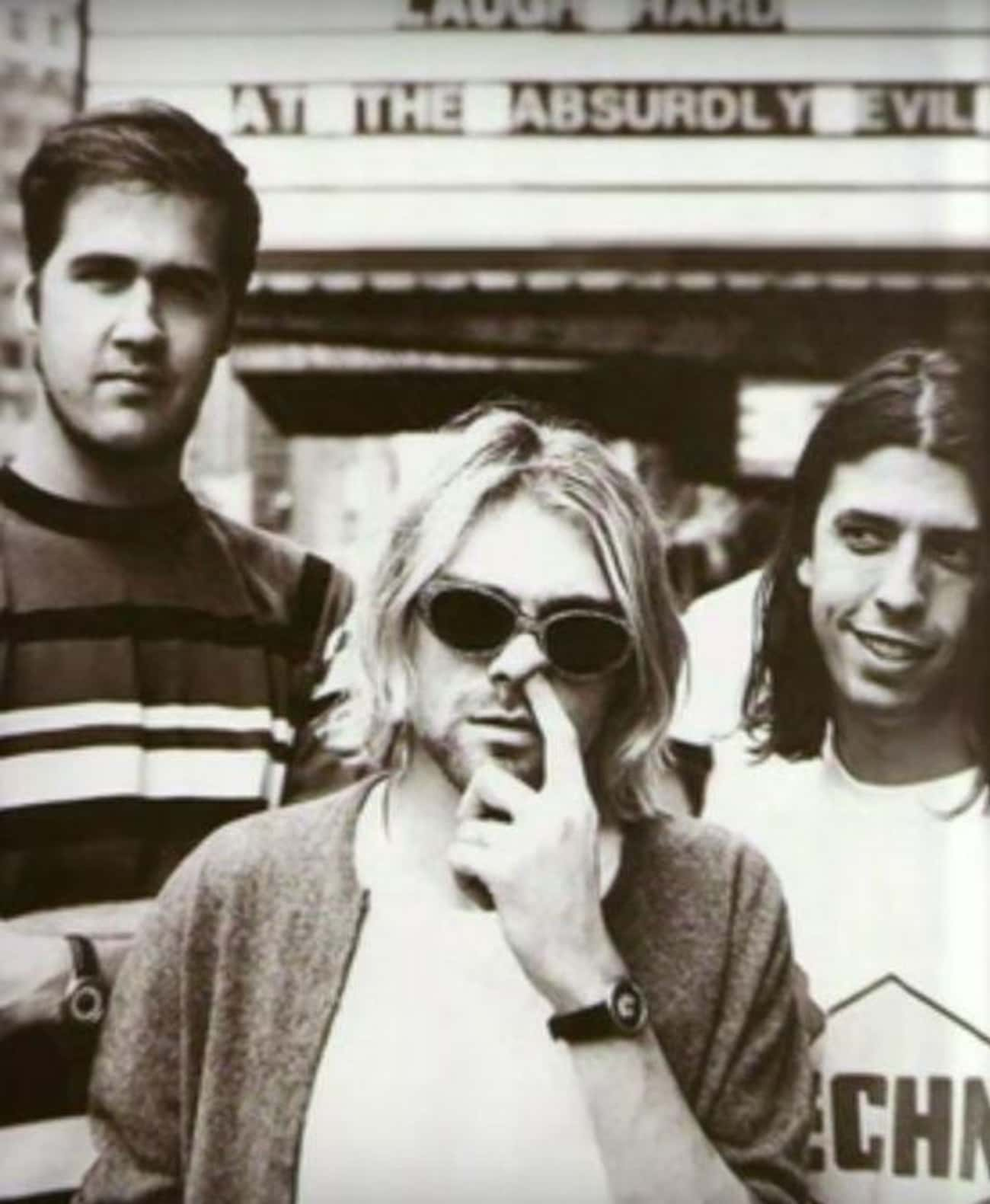 Dave Grohl Taught Kurt Cobain  is listed (or ranked) 4 on the list 15 Crazy But True Stories About Nirvana