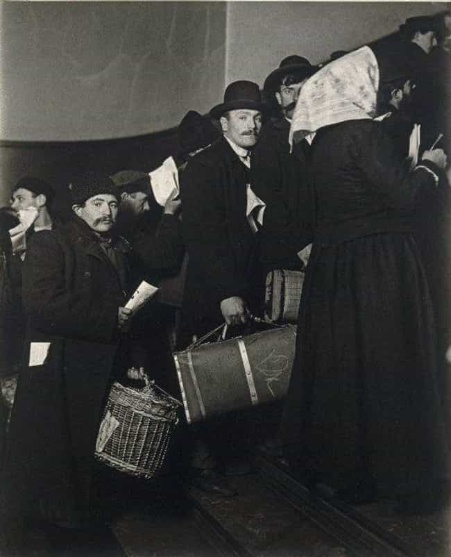 Deaf People Were Often Rejecte... is listed (or ranked) 2 on the list The 12 Grueling Steps To Legal Immigration Through Ellis Island