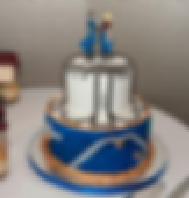 A Wedding Cake Featuring Fullm... is listed (or ranked) 4 on the list 25 Super Yummy Anime Cakes That Are Almost Too Good to Eat
