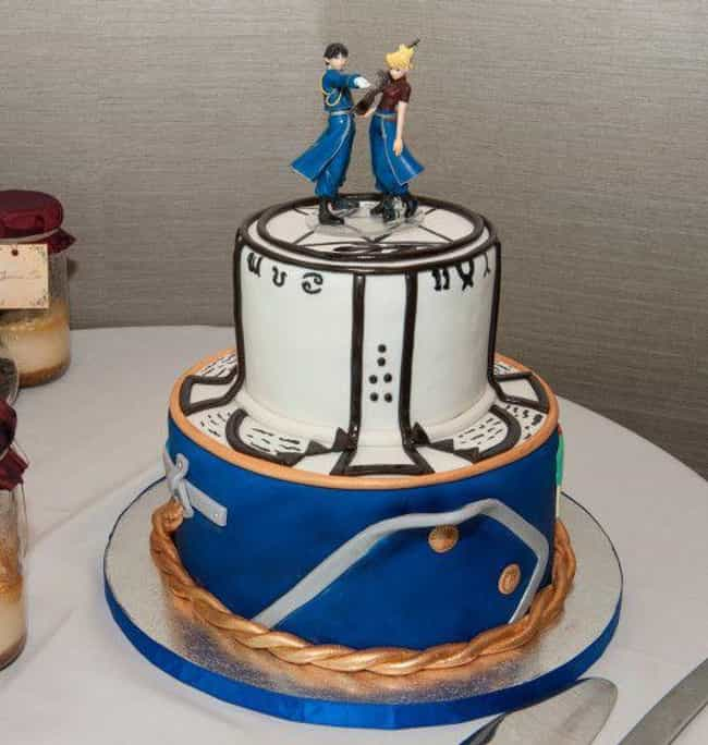 25 Incredible Anime Cakes That Are Almost Too Good To Eat
