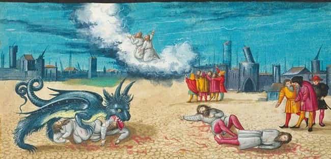 In the Apocalypse, Beast... is listed (or ranked) 2 on the list This Renaissance Artist's Depiction of The Apocalypse Is Just Really Goddamn Weird