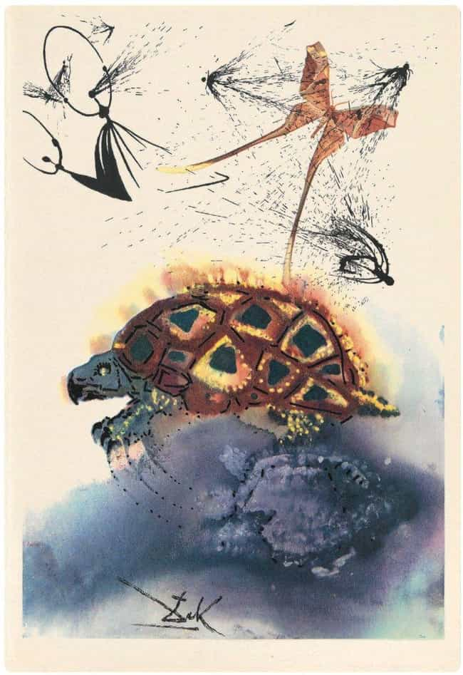 The Mock Turtle is listed (or ranked) 1 on the list The Rare Copy of Alice In Wonderland Illustrated By Salvador Dali Is Haunting And Beautiful