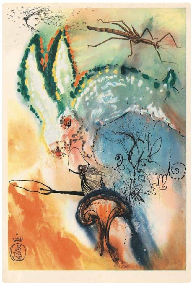Down The Rabbit Hole is listed (or ranked) 2 on the list The Rare Copy of Alice In Wonderland Illustrated By Salvador Dali Is Haunting And Beautiful