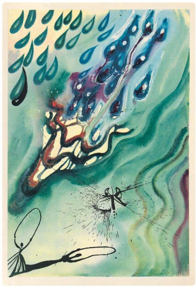 The Pool Of Tears is listed (or ranked) 3 on the list The Rare Copy of Alice In Wonderland Illustrated By Salvador Dali Is Haunting And Beautiful
