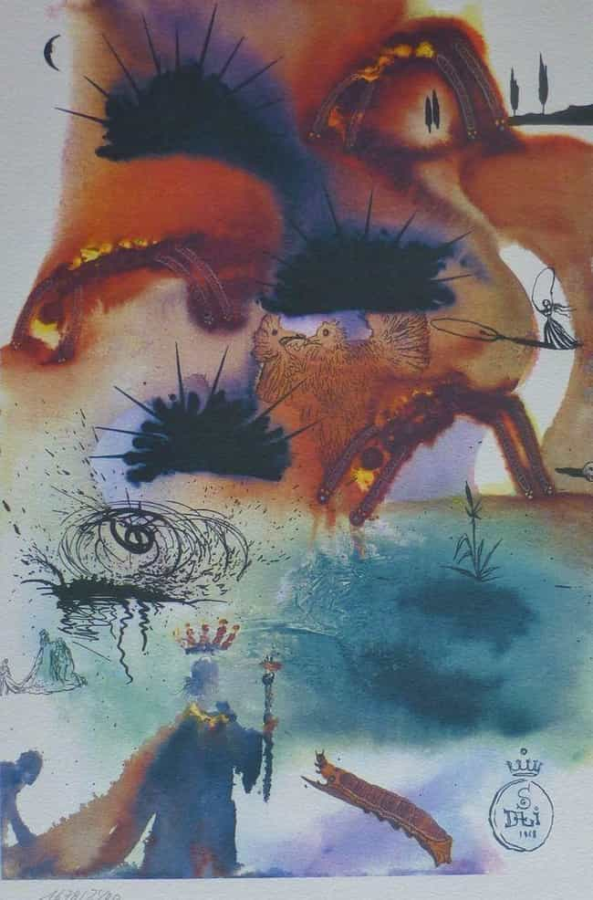 The Voice Of The Lobster is listed (or ranked) 8 on the list The Rare Copy of Alice In Wonderland Illustrated By Salvador Dali Is Haunting And Beautiful
