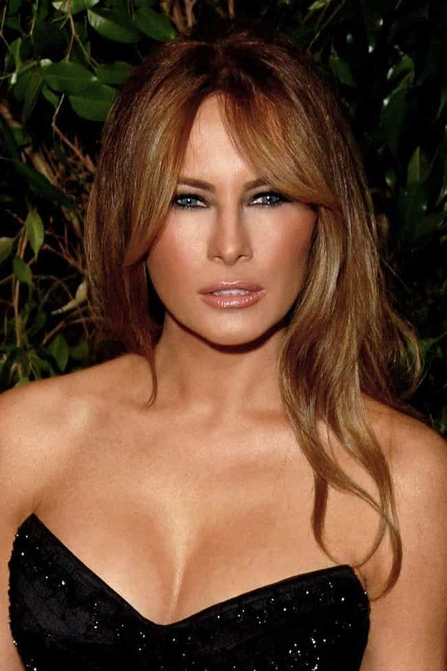 Melania Has Been Modelin... is listed (or ranked) 4 on the list Stories About Melania Trump's Childhood