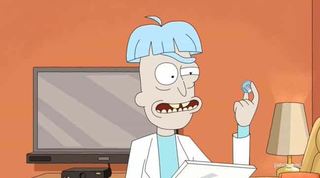 He Has An Emotional Inte... is listed (or ranked) 1 on the list Doofus Rick Is The Smartest Rick Of All, According To This Theory