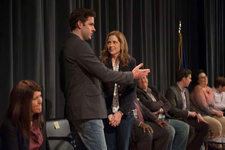 Jim Almost Admitted To Cheating On Pam At The Q&A