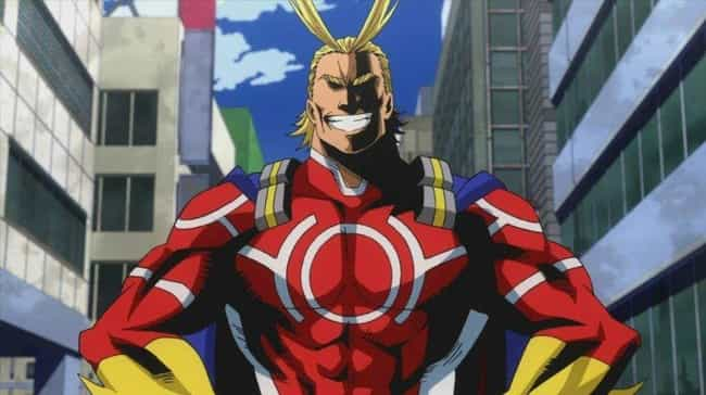 All Might From My Hero A... is listed (or ranked) 1 on the list The 16 Most Impressive Physiques In Anime