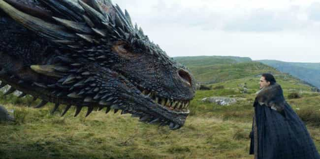 Could Jon Snow Control The Ice... is listed (or ranked) 4 on the list Everything George R. R. Martin Has Told Us About The Ice Dragon And Its Powers