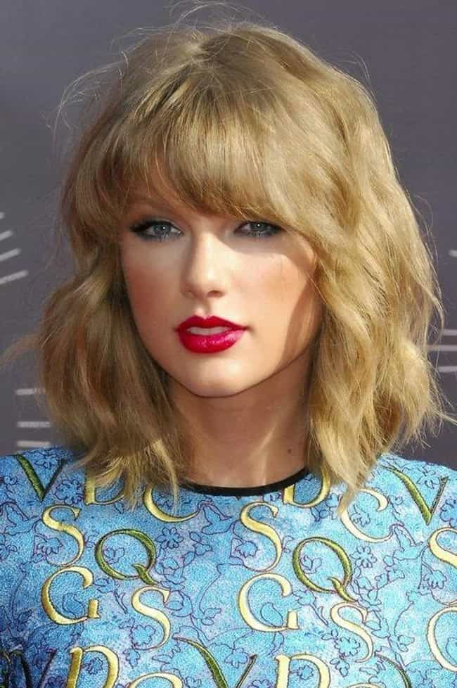 2014: Red Lips, Classic Curly ... is listed (or ranked) 7 on the list Taylor Swift's Haircuts, Ranked