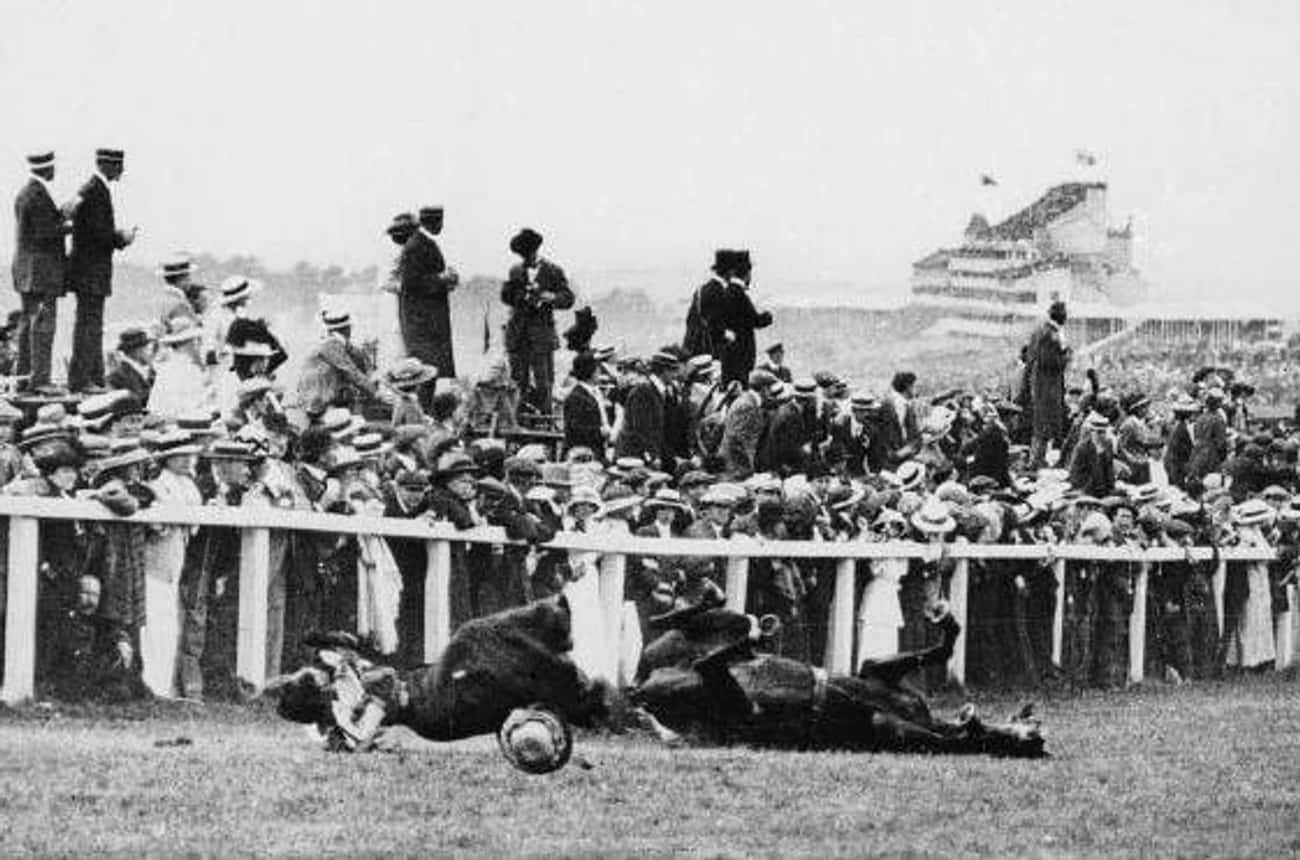 Emily Davison Wanted To Bring  is listed (or ranked) 1 on the list The Shocking Moment A Women's Rights Activist Sacrificed Her Life By Horse Stomping