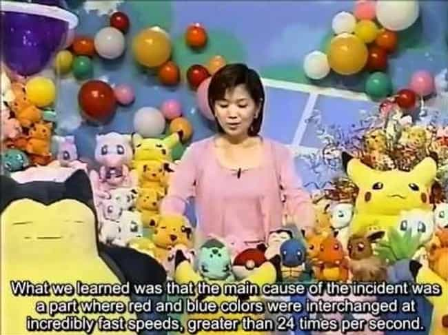 New Guidelines Were Crea... is listed (or ranked) 4 on the list The Shocking Story Behind Dennō Senshi Porygon: The Pokémon Episode That Caused Seizures