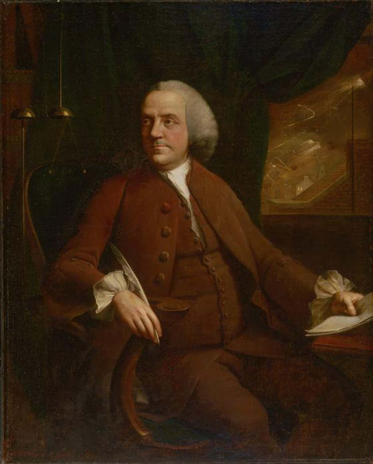 Benjamin Franklin Preferred El is listed (or ranked) 4 on the list Weird And Disgusting Foods The Founding Fathers Ate