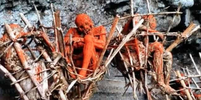 First, The Bodies Get Drained ... is listed (or ranked) 2 on the list The Smoked Corpses Of The Kuku Kuku People Are One Of History's Creepiest Death Rituals