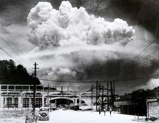 This Was The Earliest Image Of... is listed (or ranked) 1 on the list The Full-Resolution Photo of The Nagasaki Mushroom Cloud Is Breathtaking