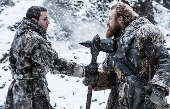 How To Survive The Cold is listed (or ranked) 3 on the list The Best Tormund Giantsbane Quotes
