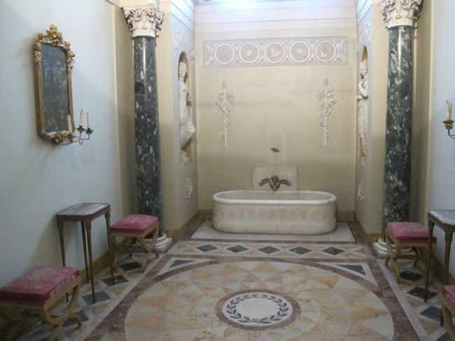 Napoleon Built A Marble-Filled... is listed (or ranked) 3 on the list 12 Stupendously Lavish And Over The Top Bathrooms From History