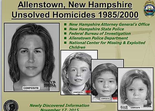 Four Unidentified Jane D... is listed (or ranked) 3 on the list 11 Women Who Were Brutally Murdered And Stuffed In Barrels